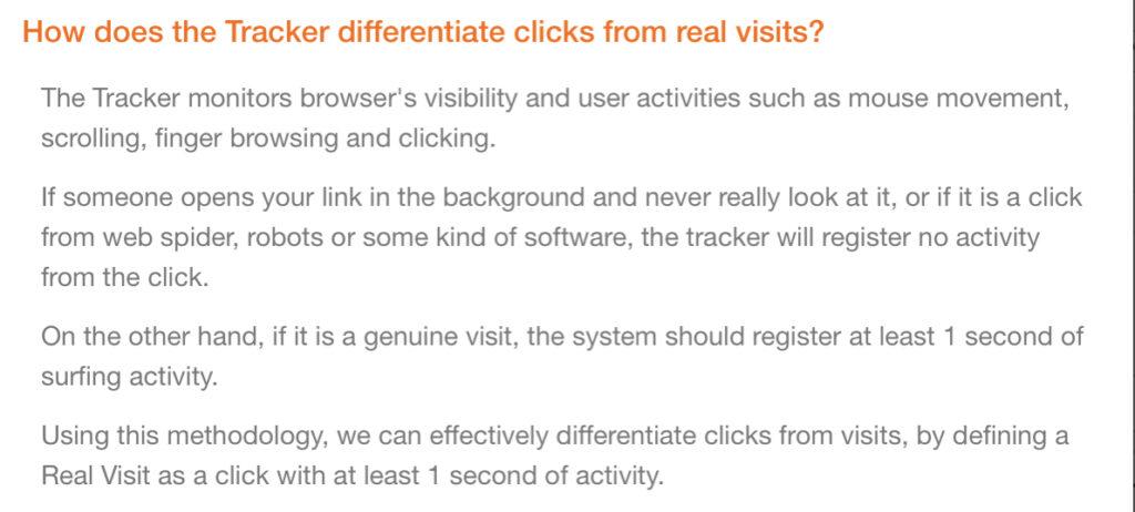 Leadsleap link tracker faq