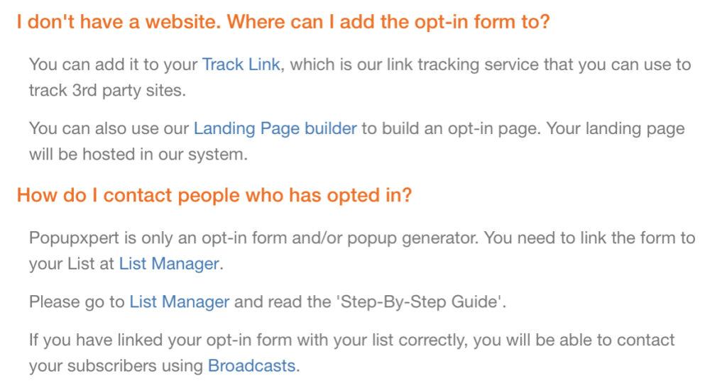 Leadsleap PopupXpert